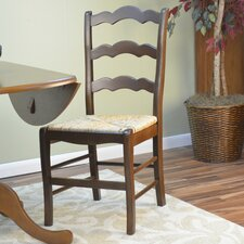 American Oak Vienna Ladder Side Chair