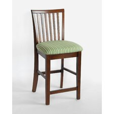 "<strong>Carolina Cottage</strong> Hudson 24"" Bar Stool with Cushion"