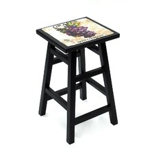 "<strong>Carolina Cottage</strong> Grape 24"" Bar Stool"