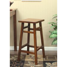 O'Malley Pub Bar Stool in Walnut