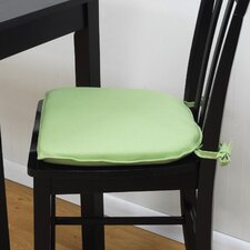 Tailor Made Mission Style Bar Stool Chair Pad (Set of 2)