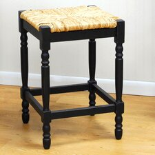 "Hawthorne 24"" Antique Black Counter Stool"