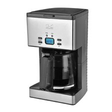 Programmable 12 Cup Stainless Steel Coffee Maker