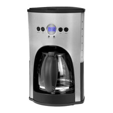 12 Cup Coffee Maker in Silver