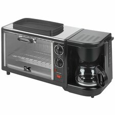 Breakfast Set 3 in 1 Coffee Maker/Oven/Griddle