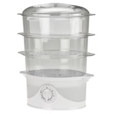 <strong>Kalorik</strong> 9.5 Quart 3 Tier Food Steamer
