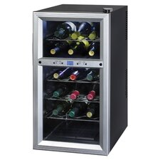 Contemporary 18-Bottle Thermoelectric Wine Refrigerator
