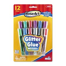 <strong>Roseart</strong> Washable Glitter Glue Pens (Set of 12) (Set of 12)