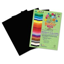 Premium Sulphite Construction Paper (50 Pack)