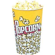 Yellow Popcorn Cups (Set of 25)