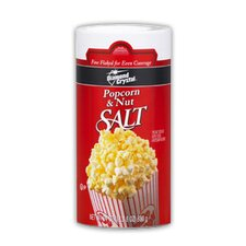 <strong>Snappy Popcorn</strong> 24 oz Popcorn and Nut Salt