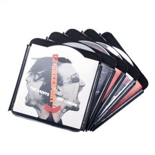 d2i Slide-N-Lock Removable CD Storage Pages - 100 CDs