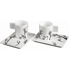 Origini Raccolta Espresso Cup and Saucer (Set of 2)