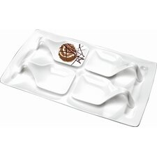 Desiderio Tasting Course Tray with Tasting Spoons