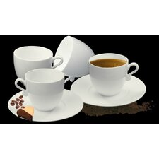 Trame Espresso Cup and Saucer (Set of 2)