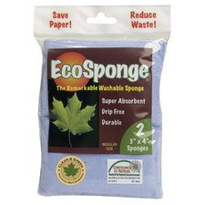 EcoSponge Washable Sponge 2 Count