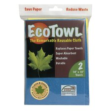 EcoTowel Reusable Cloth 2 Count