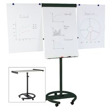 Gold Ultra Magnetic Dry Erase Multi-Use Mobile Easel