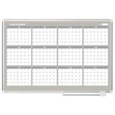 12 Month Planner 3' x 4' Whiteboard
