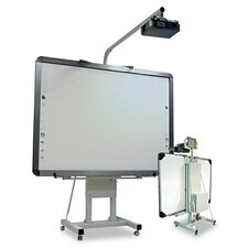 Interactive Board Mobile Stand with Projector Arm