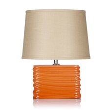 Spin Blush Table Lamp