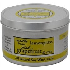 <strong>Aroma Paws</strong> Vanilla Lemongrass Travel Tin Candle