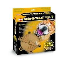 Seek-A-Treat Advanced Challenge Twist-A-Bone Dog Toy