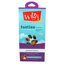 6-oz. Tastie Bites Peanut Butter - Bite Sized Baked Dog Treat
