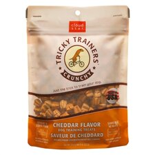 Tricky Trainers Crunchy Cheddar Flavor Training Dog Treat
