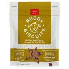Buddy Biscuits Grilled Beef Flavor Soft & Chewy Dog Treat