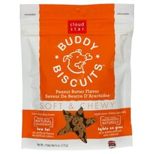 <strong>Cloudstar</strong> Buddy Biscuits Peanut Butter Flavor Soft & Chewy Dog Treat