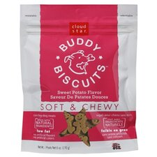 Buddy Biscuits Sweet Potato Flavor Soft & Chewy Dog Treat