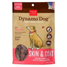 Dynamo Dog Skin and Coat Salmon Dog Treat