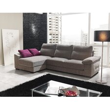 "3er Sofa ""Luna"" mit Chaiselongue"