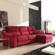 "3er Sofa ""Loft"" mit Chaiselongue"