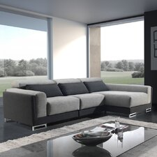 "3er Sofa ""Rebeca"" mit Chaiselongue"