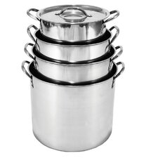 Stock Pot Set (Set of 4)