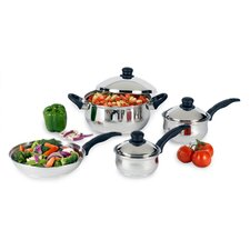 <strong>Heuck</strong> Stainless Steel 7-Piece Cookware Set