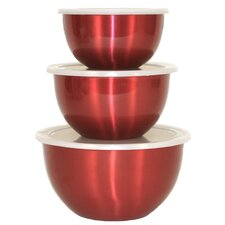 <strong>Heuck</strong> Covered Mixing Bowl (Set of 3)