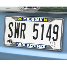 <strong>FANMATS</strong> NCAA License Plate Frame
