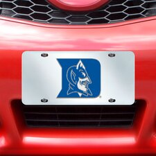NCAA License Plate Inlaid