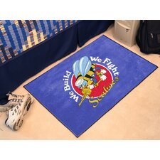 US Armed Forces Round Mat