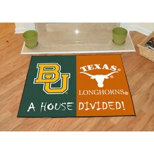NCAA House Divided Novelty Mat