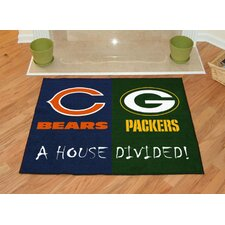 NFL House Divided Novelty Rug