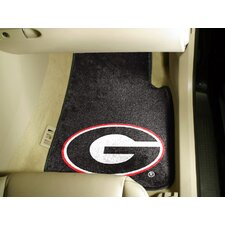 NCAA 2 Piece Novelty Car Mats