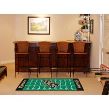 NCAA Novelty Footrun Rug