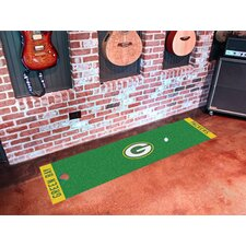 NFL Golf Putting Novelty Mat