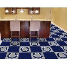 "NFL Team 18"" x 18"" Carpet Tile"
