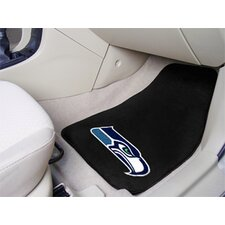NFL 2 Piece Carpeted Novelty Car Mats