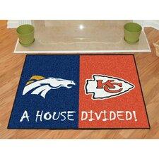NFL House Divided Novelty Rug
